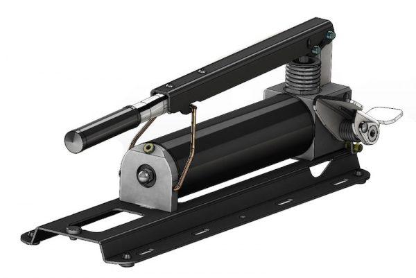 Serie HFP2STSE Pompa idraulica doppio stadio a pedale