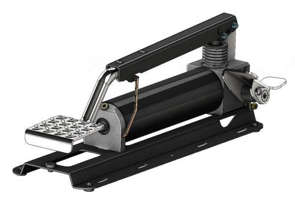 Pompa idraulica doppio stadio a pedale Serie HFP2STSE