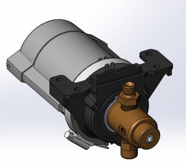 Motore idropneumatico per uso acqua UPW250