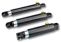 Attuatori idraulici serie T: Cilindro di sollevamento a tuffante singolo effetto